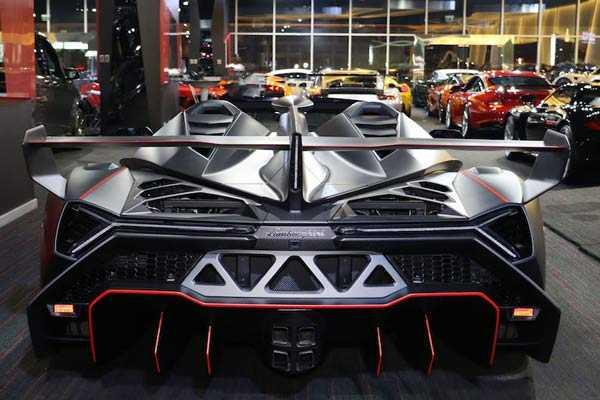 Lamborghini Veneno Roadster motor