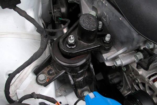 soportes del motor